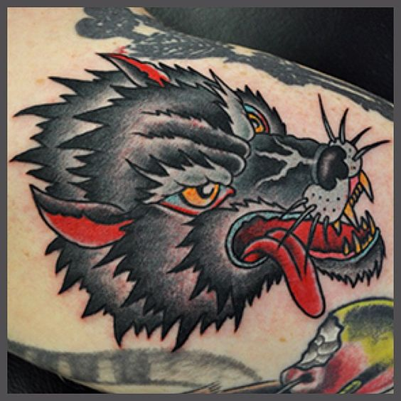 Swallows news online blog that focuses on traditional for Wolf tattoo traditional
