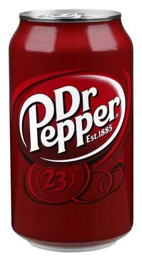 Me gusta el refresco de Dr. Pepper