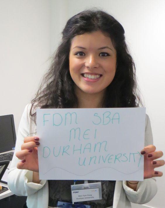 Meet our Durham University SBA #DurhamUniversity