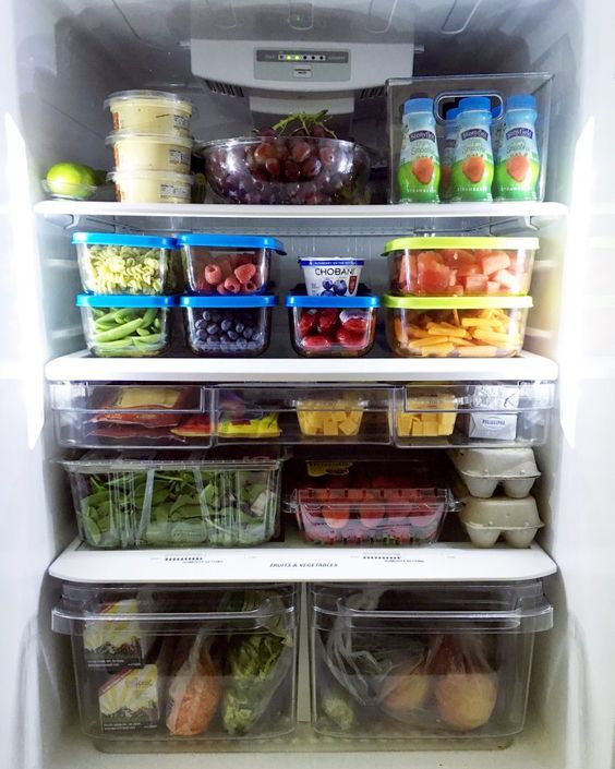 Clean and organize your fridge and cupboards