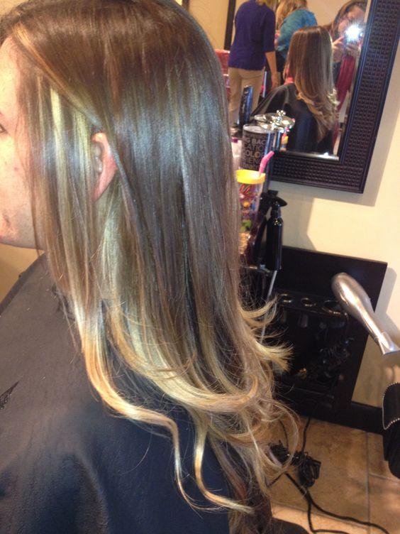 Hair: Paris Saxton. Ombré
