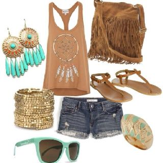 Brown, turquoise.... Nice!