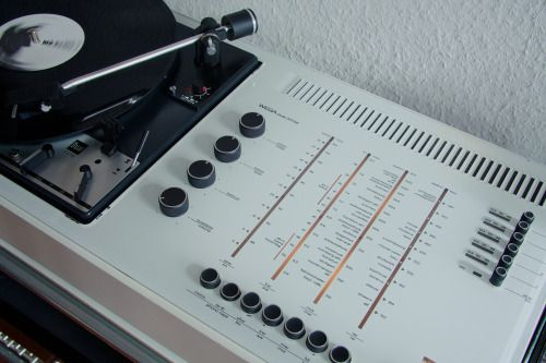 Analog Dreams • vintage-audio:   Wega Studio 3212 HiFi receiver...