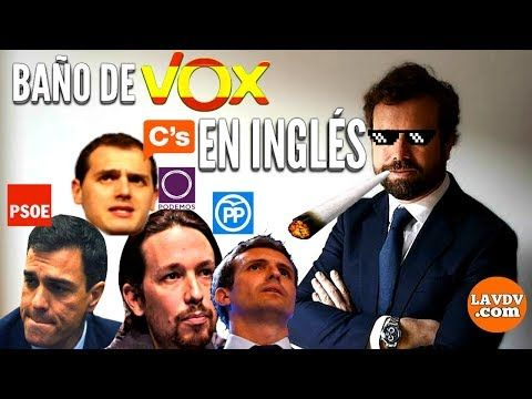 Vox Arrasa En Ingles A Pp Psoe Podemos Y C S Youtube Pablo Casado Pp Youtube Albert Rivera