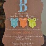 25 convites para chá de bebê: para se inspirar e usar!