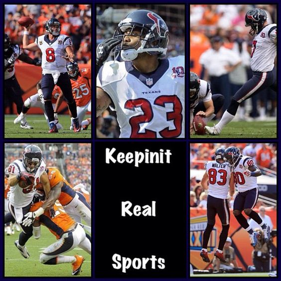 NFL: Texans 31 (3-0, 2-0 away) Broncos 25 (1-2, 1-1 home) FINAL Top Performers Passing: P. Manning (DEN) - 316 YDS, 2 TD Rushing: A. Foster (HOU) - 25 CAR, 105 YDS Receiving: E. Decker (DEN) - 8 REC, 136 YDS