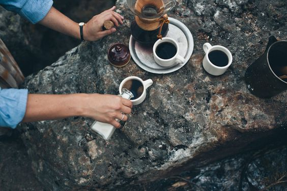 Outdoor coffee