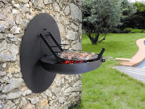 Wall mounted BBQ Grill / Sigmafocus