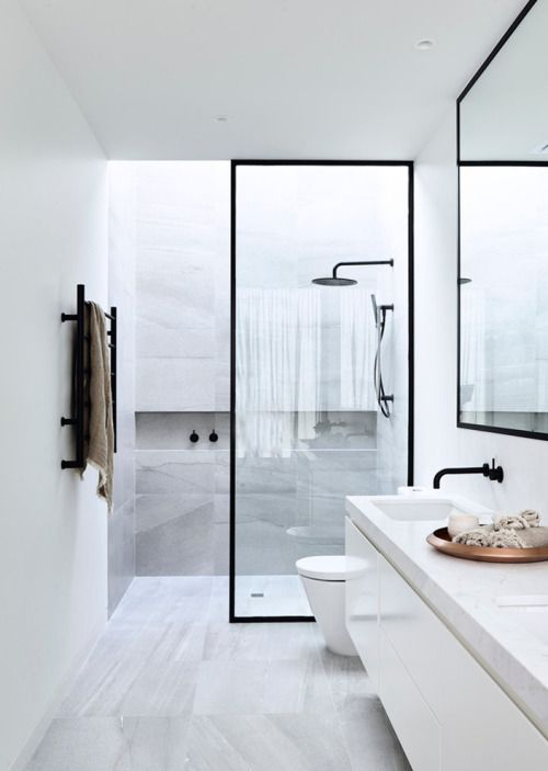 Modern bathroom:
