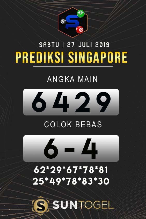 Togel Singapore Hari Ini 2019 : togel, singapore, Prediksi, Togel