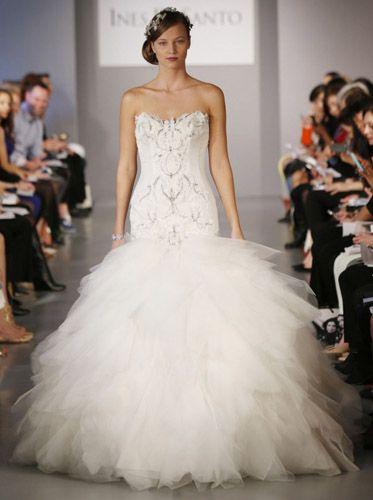 Meerjungfrau Brautkleid