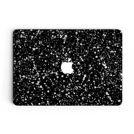 Brooklyn Speckle MacBook Skin - Black