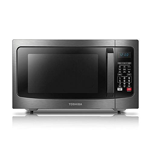 Toshiba Ec042a5c Bs Convection Microwave Oven With Convection Function And Smart Sensor 1 5 Cu Ft 1000w Black Stainless Steel Compact Microwave Oven Countertop Microwave Microwave Toaster Oven