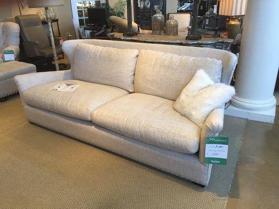 Linen 2 Cushion Sprintz Sofa