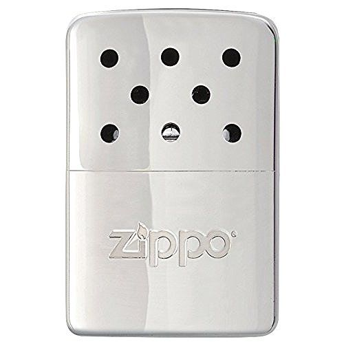 Zippo Hand Warmer High Polish Chrome Pocket Lighter