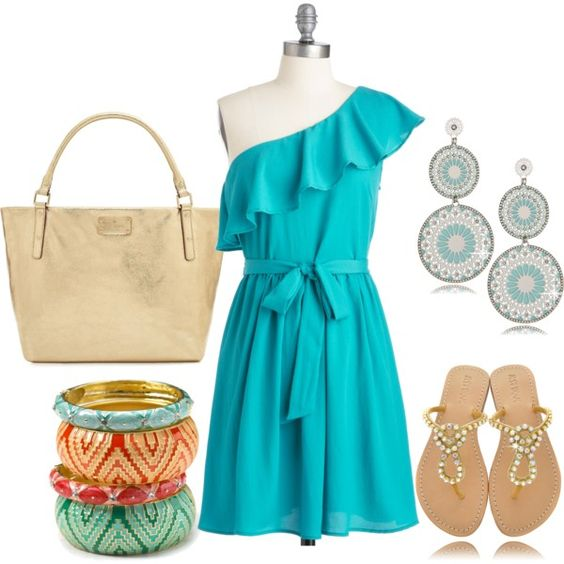 """""""Summertime Fine! ;)"""" by alanad23 on Polyvore"""