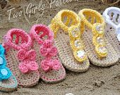 the  best sandal crochet pattern