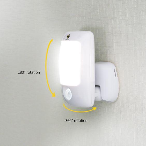 Z-Edge Portable LED Motion Sensor Light $9.59!