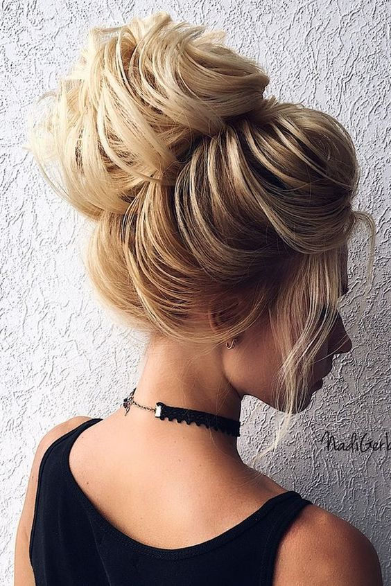 Superb Big Bun Top Knot With Hair Extensions Long Hairstyle Schematic Wiring Diagrams Amerangerunnerswayorg