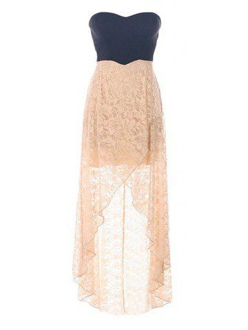Lace High Low Dress. I wish I had this for my moms wedding
