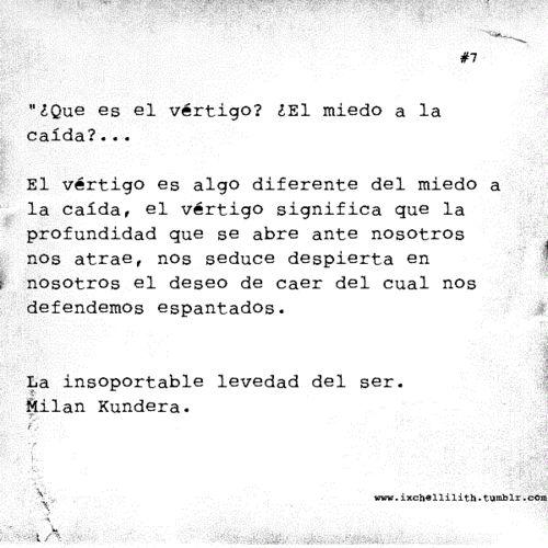 Milan Kundera  La Insoportable Levedad Del Ser  De Mis