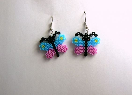b oreilles papillon perles hama