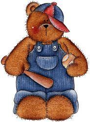 Ursinhos cuties para decoupage | Imagens para Decoupage