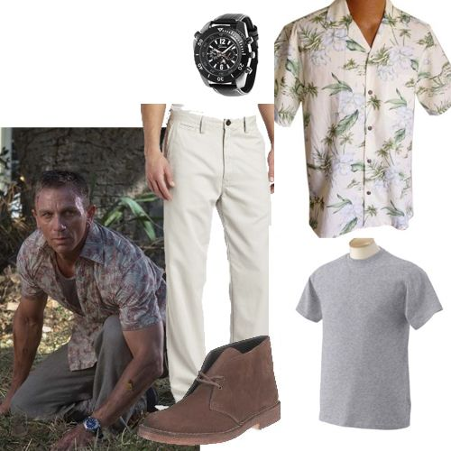 Bond's Madagascar chase. This whole outfit costs just $180.