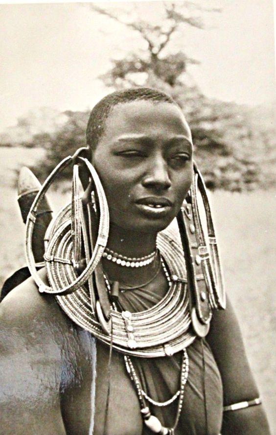 Maasai Woman, East Africa