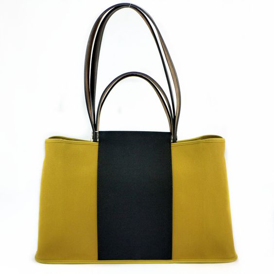 used hermes birkin bag - Hermes Cabag PM Black Canvas & Leather Tote, birkin bags cost
