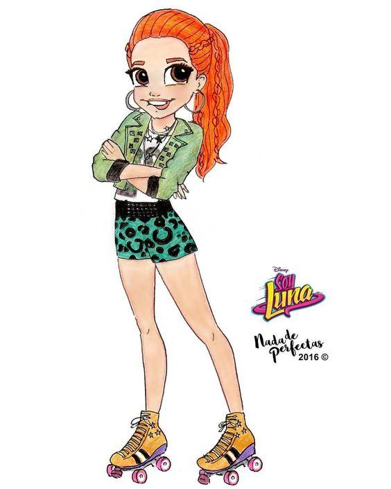 Jim💃🎉🎨 @anajaramartinezok 😍💕💖 Una de mis favoritos personajes de #SoyLuna!😍🙌🎉😘💕✨ Dejame saber que…