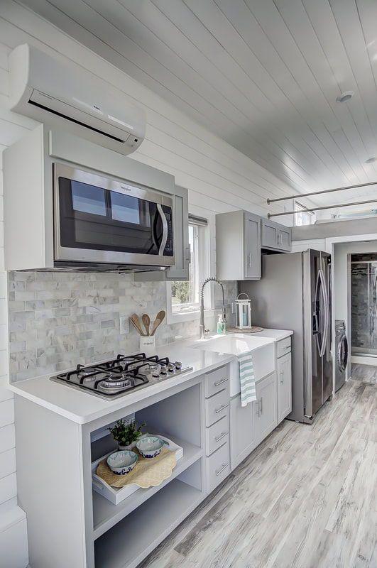 Fox By Modern Tiny House Kitchen Tiny House Interior Design