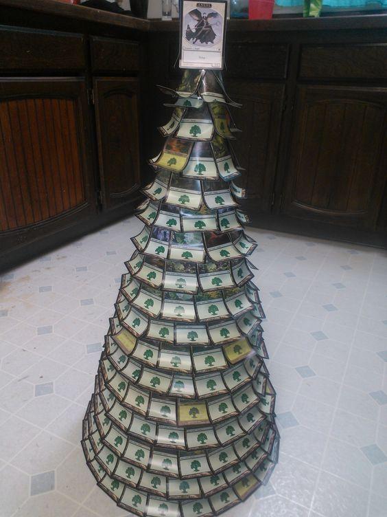 Magic: the Gathering card Christmas tree! :) | Magic: The ...