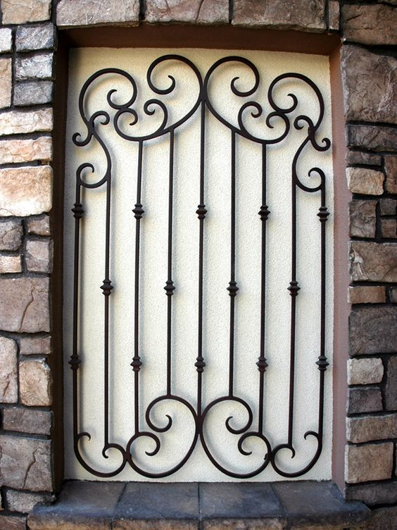 Wrought Iron Window And Irons On Pinterest