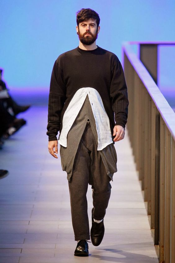 Male Fashion Trends: Manuel Cruzcastillo Fall/Winter 2014 - 080 Barcelona Fashion