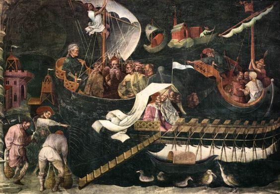 Giovanni da Modena - Return of the Magi - Giovanni di Pietro Falloppi - Wikipedia: