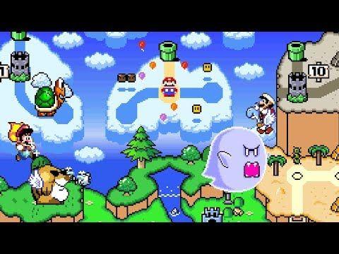New Super Mario World 2 Around The World 2of3 Youtube Super Mario World Super Mario Mario