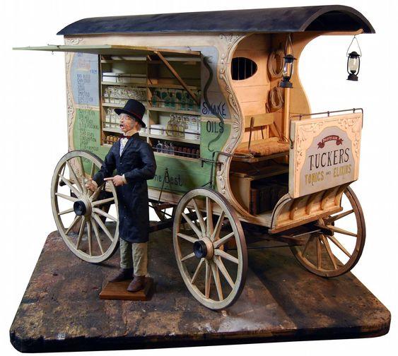 Traveling Medicine Woman S Caravan