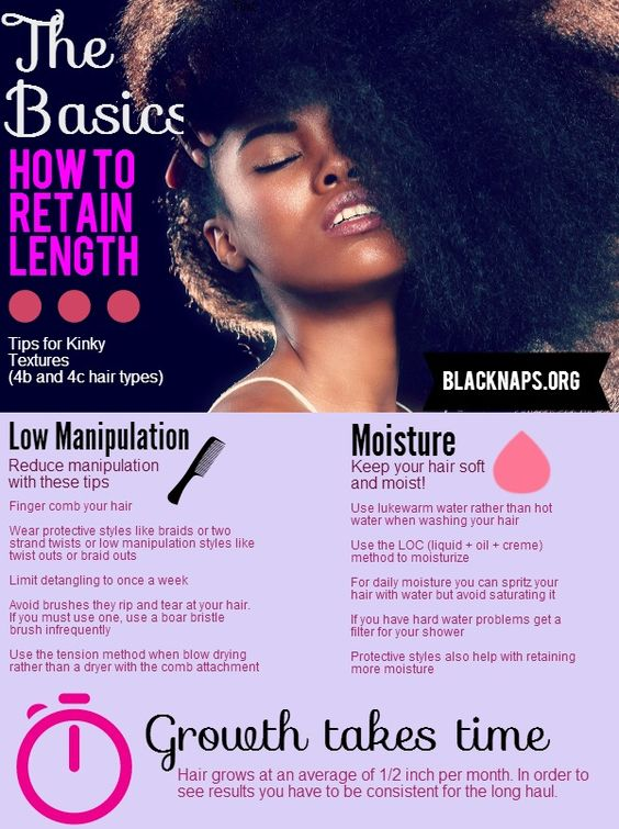 This is a very basic beginner's intro for retaining hair length in kinky hair types (4b and 4c hair). When you look at what it takes, it really is pretty easy!