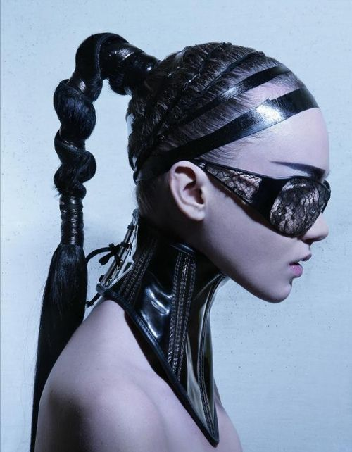 possible hair style inspiration Warrior chic. #femmefatale #style #highfashion