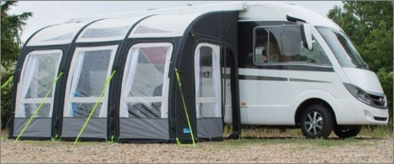 Kampa Motor Rally Air Pro 390 Xl Inflatable Motorhome Awning 2016 Ce7110 New Improved Version With The Introduction Of Zi Campervan Awnings Motorhome Awning