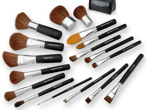 Bare Mineral Brushes.  Best brushes ever!