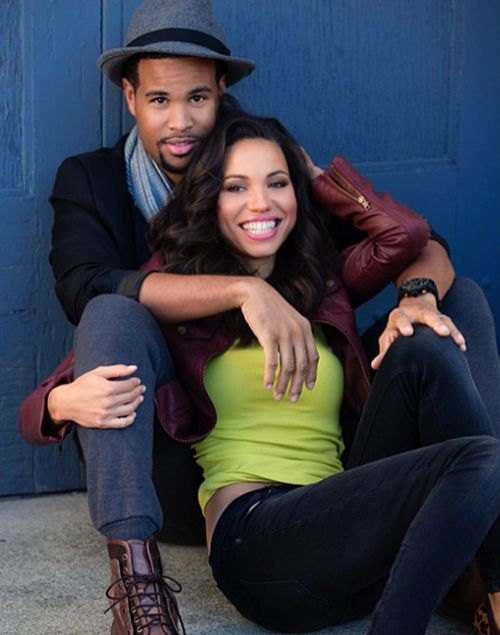 Jurnee Smollett and hubby Josiah Bell