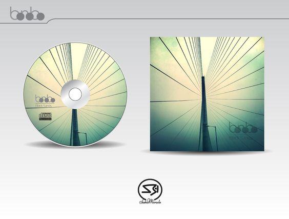 "Compact Disk ""Bonobo"" on Behance"