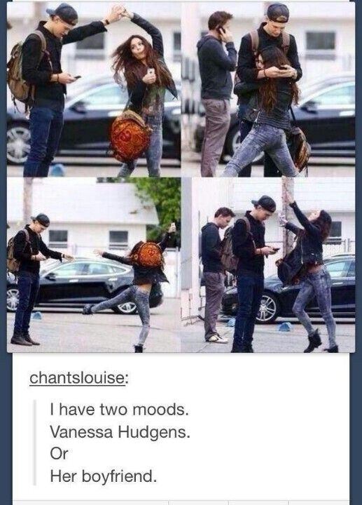 I have two moods...