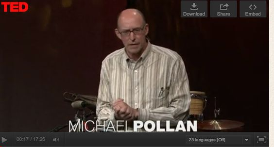 Read these Food Rules from Michael Pollan's book and see his Ted Talk  http://fitforrestofyourlife.com/