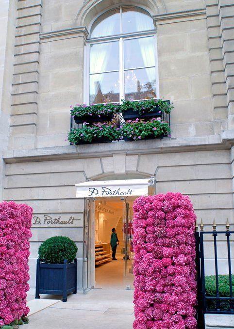 Porthault Store in Paris: