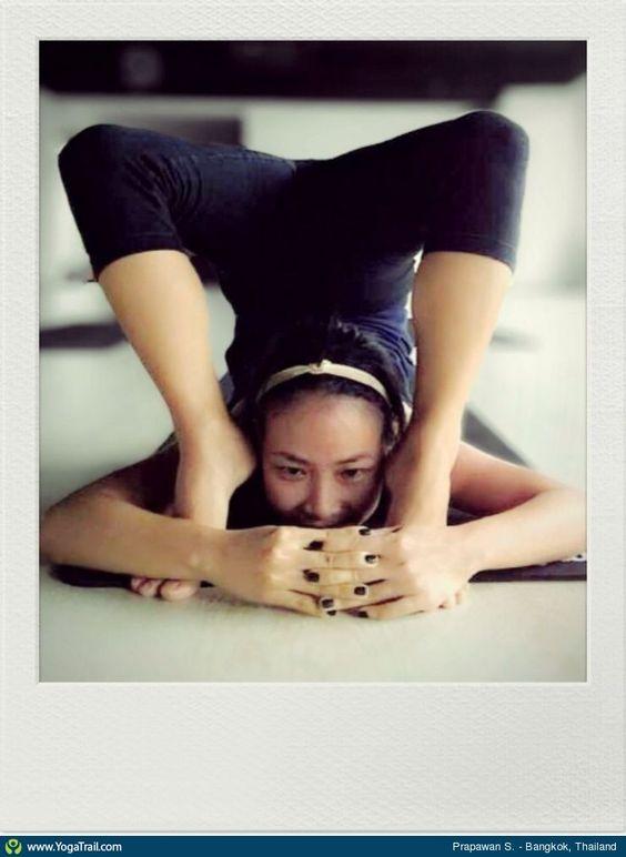 #Yoga Poses Around the World: Other taken in Bangkok, Thailand by Prapawan Sawangnimitkul