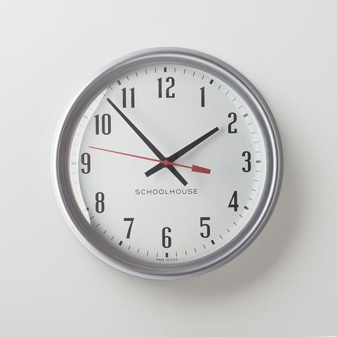 Clocks Wall Clocks Ibm Clocks In 2020 Vintage Office Furniture Clock Mid Century Modern Design