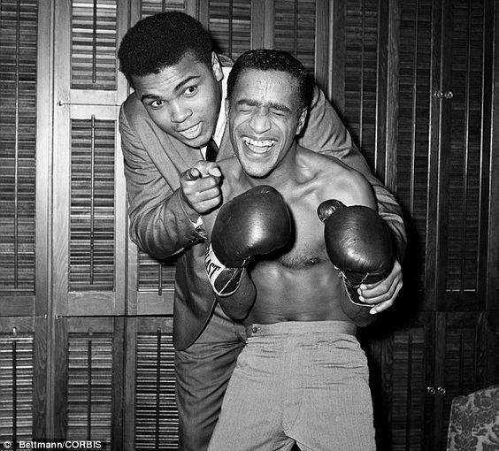Muhammad Ali and Sammy Davis Jr
